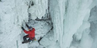 Will Gadd, Chute du Niagara, gelées