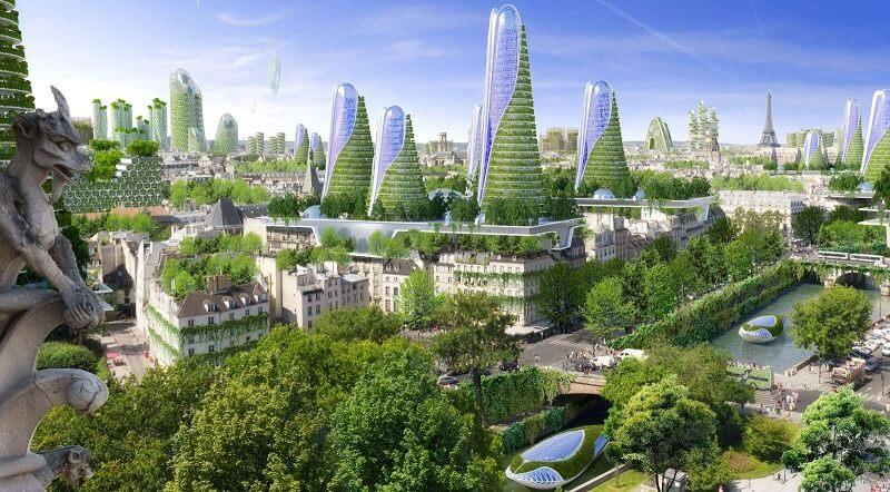 Paris Smart City 2050, ville verte et durable