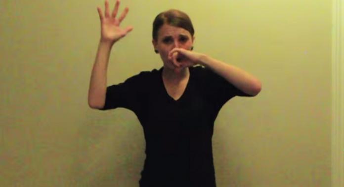 Shelby Mitchusson, Lose Youself, Eminem, langue des signes