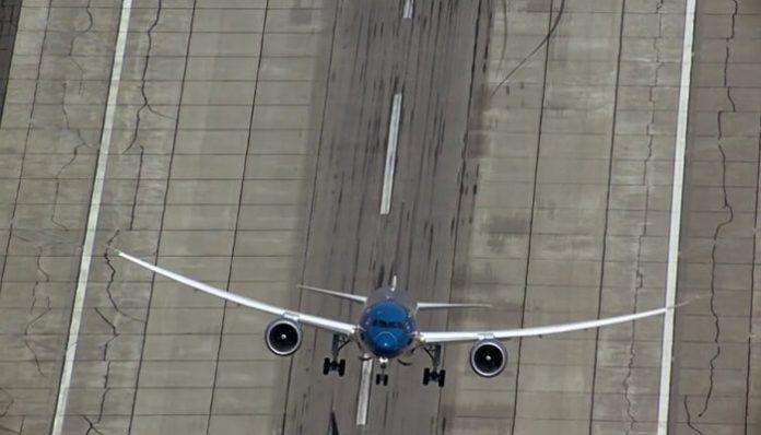 décollage vertical, Boeing 787-9 Dreamliner, vidéo