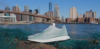 Baskets Adidas, recyclées plastique, filets