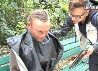 Dati Kouch, coiffeur, barbier, sdf Paris