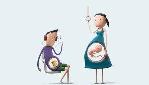 femmes enceintes, transports, levez-vous !