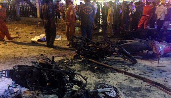 attentat à la bombe, Bangkok