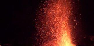éruption, volcan, Piton de la Fournaise, Réunion