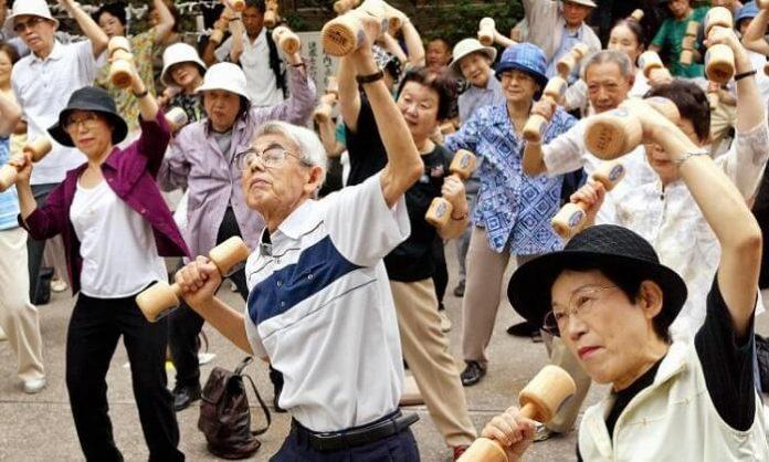 Japon, personnes âgées, record