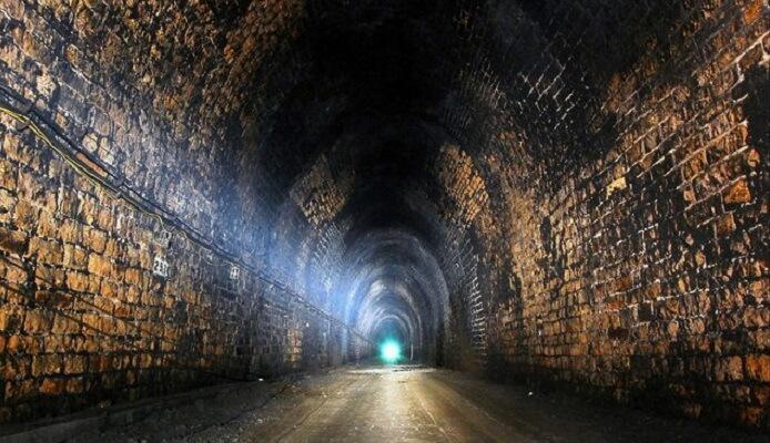 tunnel, train nazi, or, pologne