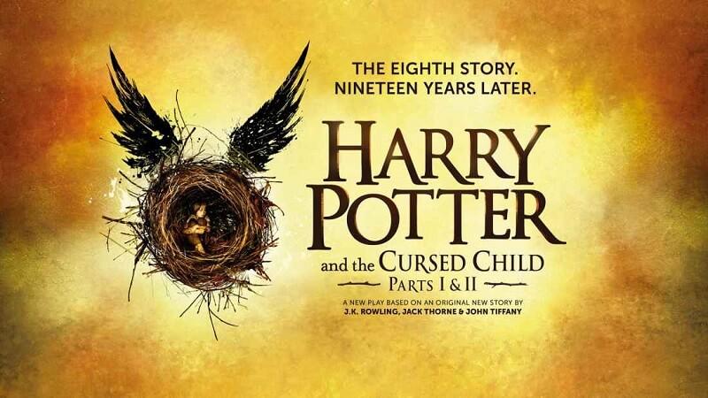 Harry Potter et l'enfant maudit, couverture du livre