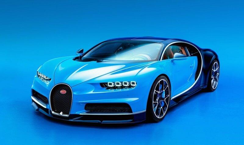 Bugatti Chiron de face
