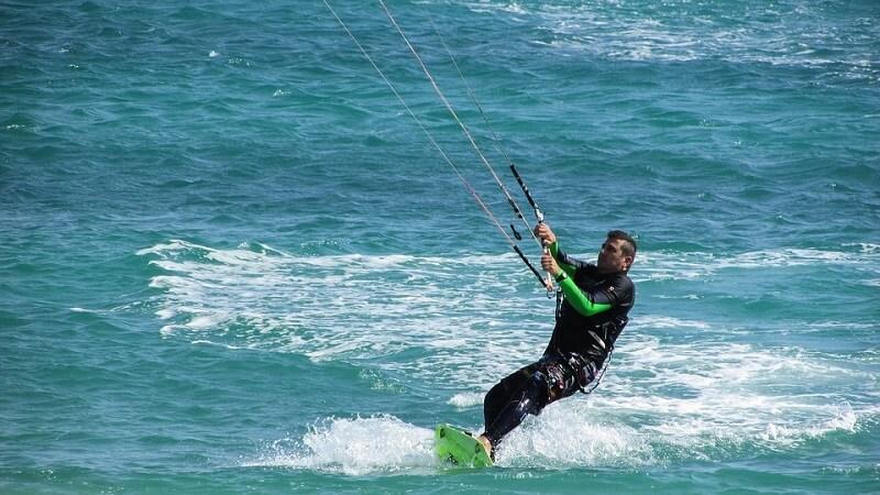 Kitesurf position