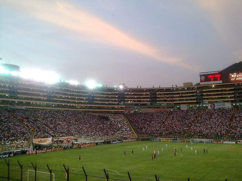 Stade Monumental, Lima, Pérou