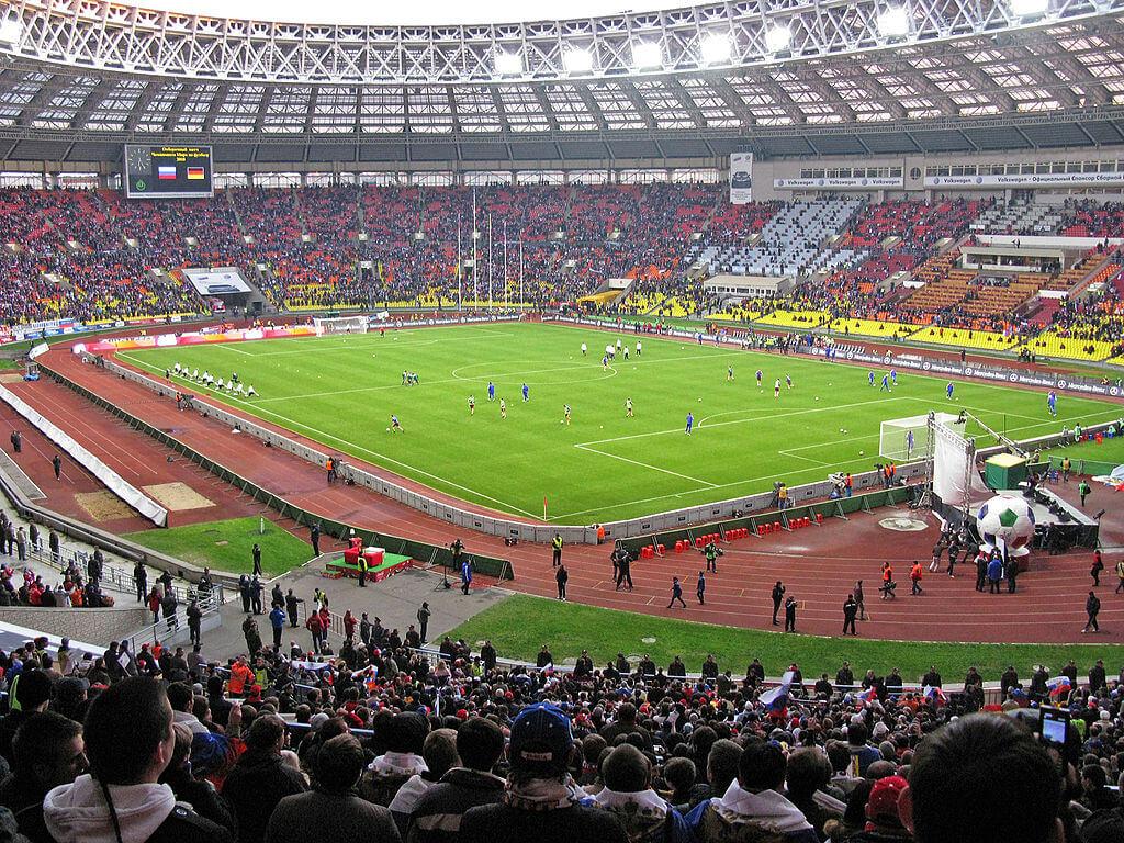 Stade Loujniki (stade olympique) de Moscou, Russie