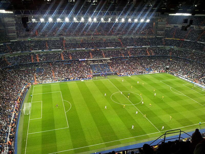 Stade Santiago Bernabéu, Madrid, Espagne