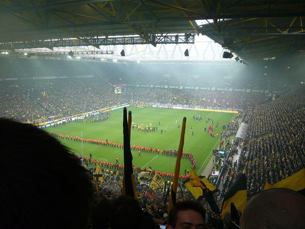 Stade Signal Iduna Park, Dortmund, Allemagne