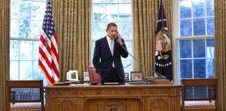 Barack Obama, Bureau, Téléphone
