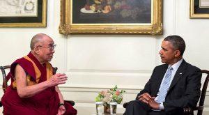 Barack Obama, Dalaï Lama
