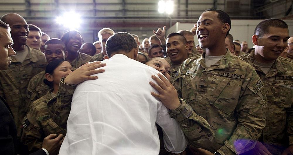 Barack Obama, Soldats américains