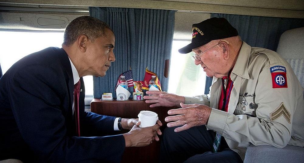 Barack Obama, Vétéran, Guerre