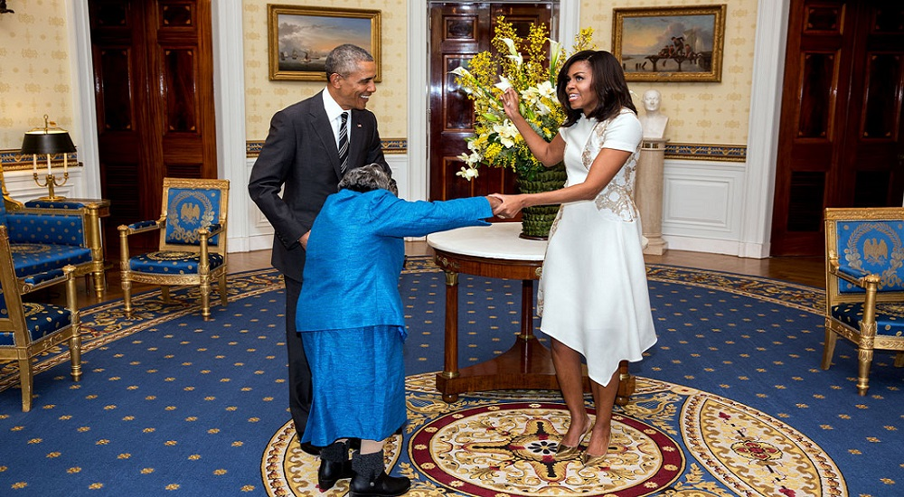 Barack Obama, Vieille, Danse