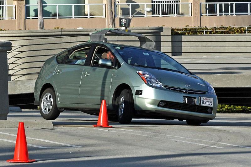 Google, Toyota Prius, voiture autonome