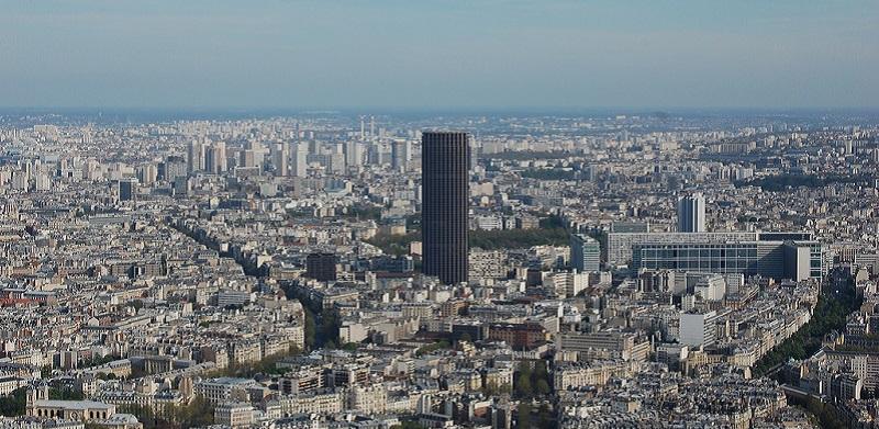 Paris, Ville, Tour, Montparnasse