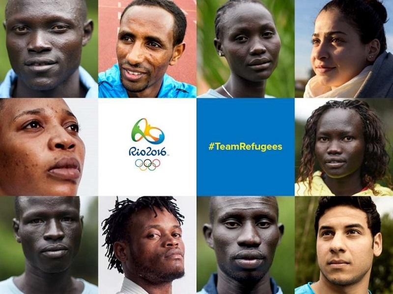 Equipe des réfugies, Jeux Olympiques, Rio