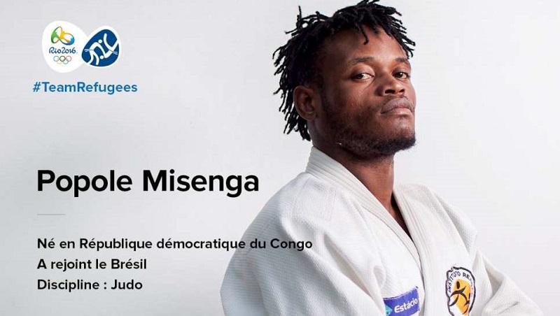 Popole Misanga, judo, réfugié, jeux olympiques