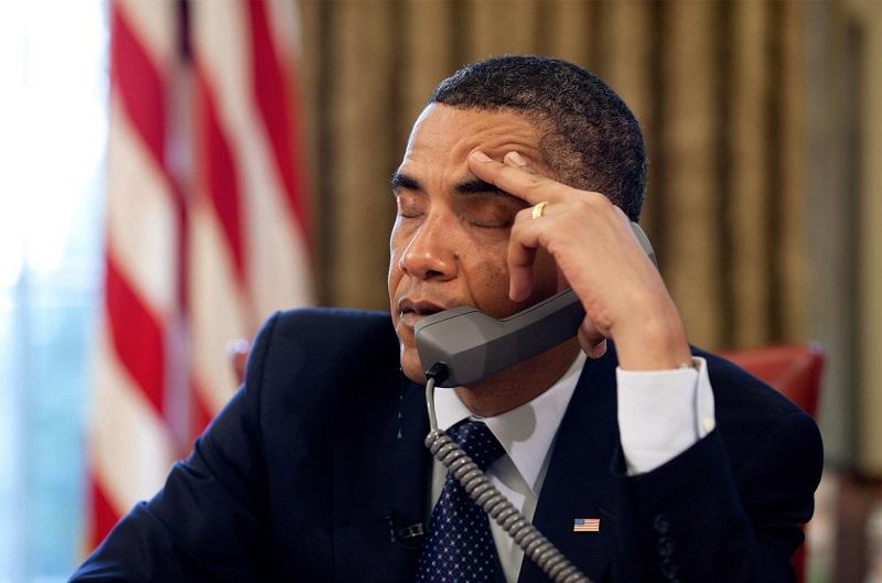 Barack Obama, dormir