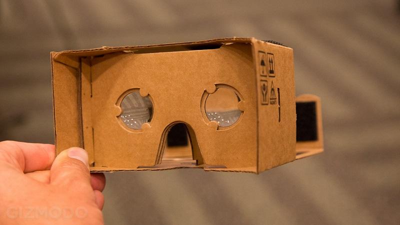 Cardboard, réalité virtuelle