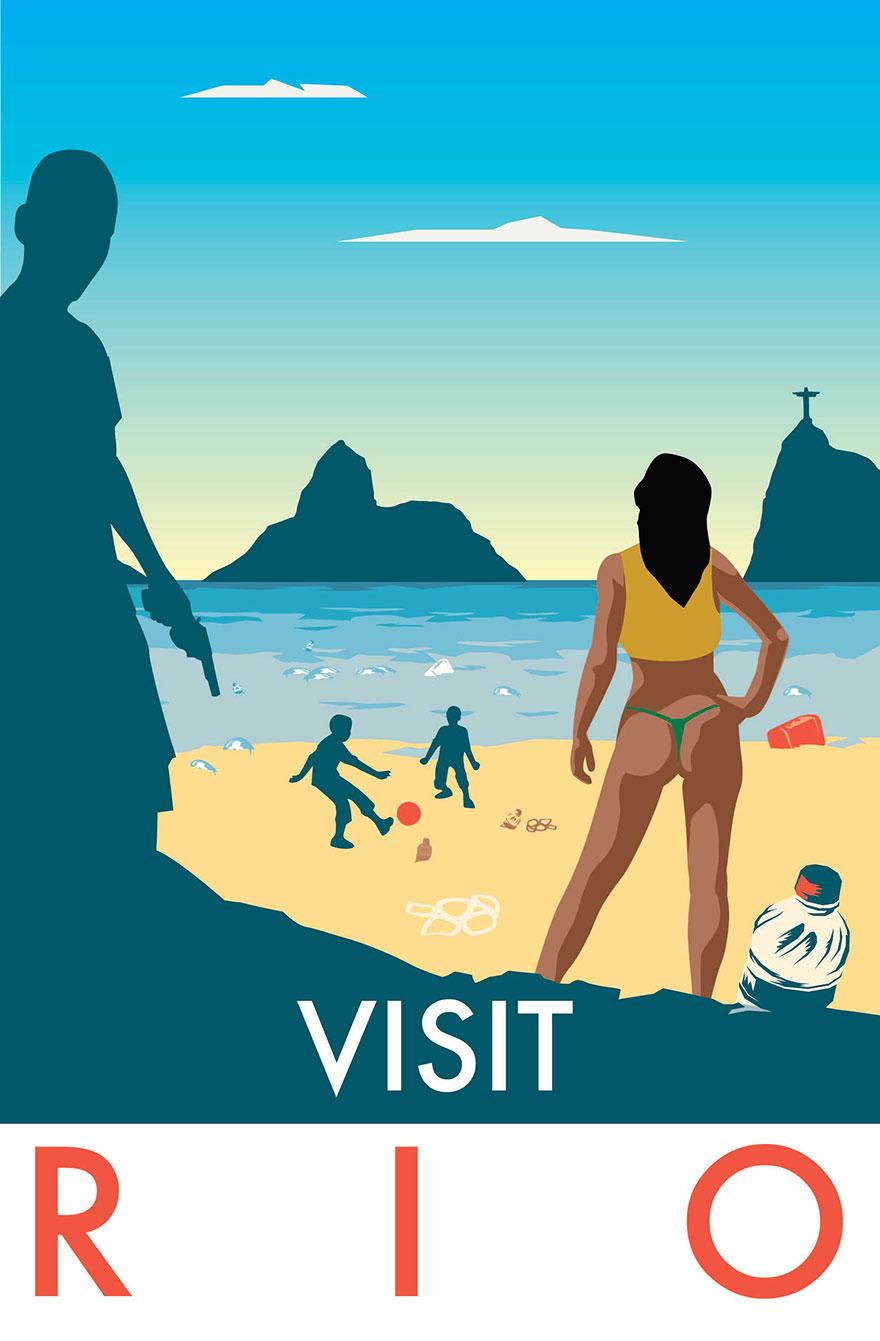 Monk HF, publicités touristiques