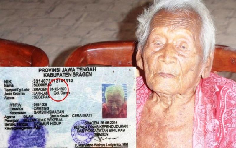 Carte d'identité de Mbah Gotho