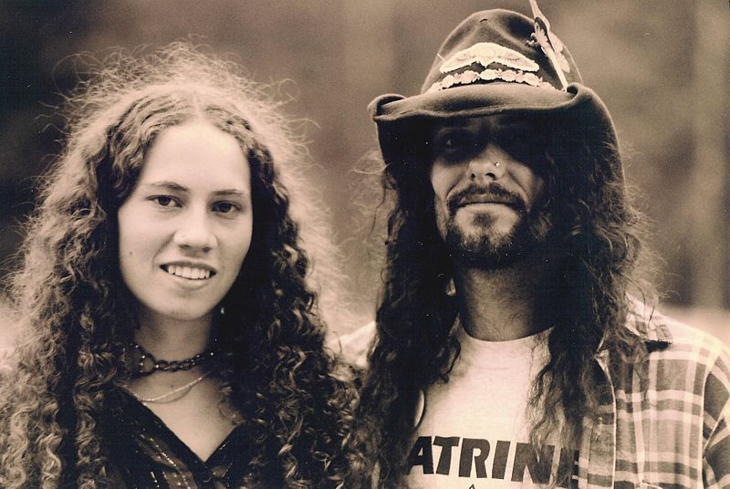 Couple Hippie