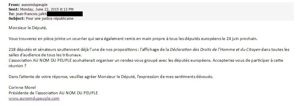 Mail Au nom du peuple, Jean-françois Jalkh