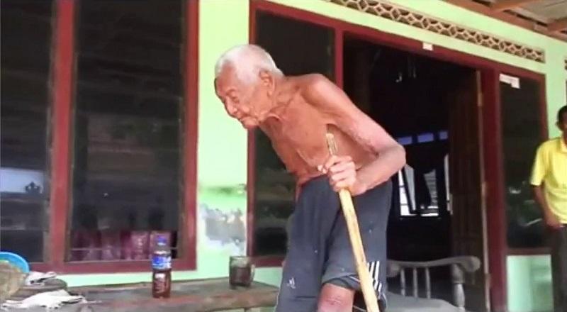 Mbah Gotho, l'homme le plus âgé au monde