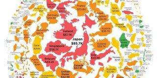Dette publique par habitant