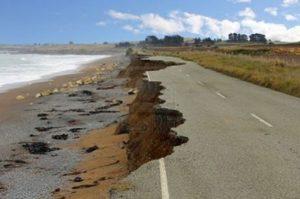L'érosion des sols sont en partie dus au réchauffement climatique.
