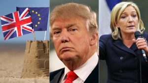 Brexit, Trump, Le Pen