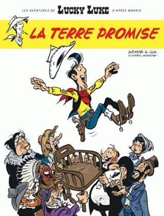 Les Aventures de Lucky Luke d'après Morris Tome 7 - La terre promise