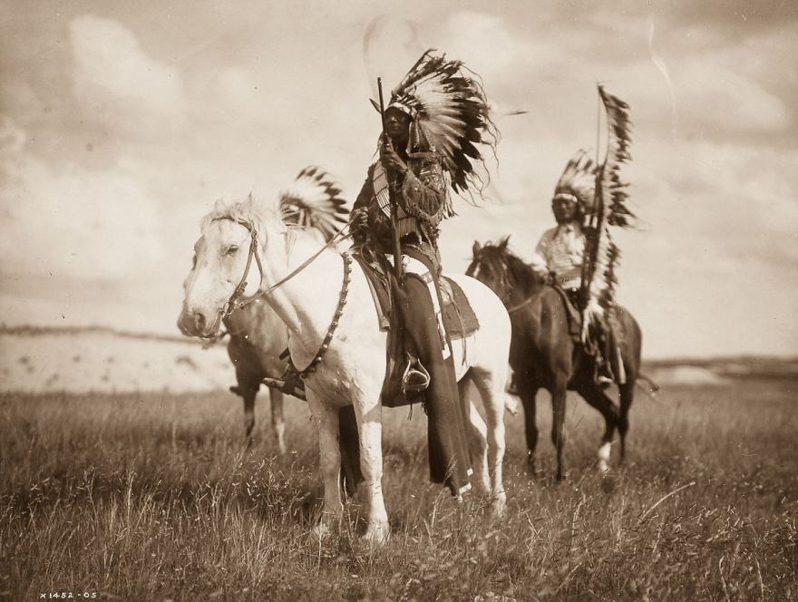Edward Curtis, indiens d'Amérique