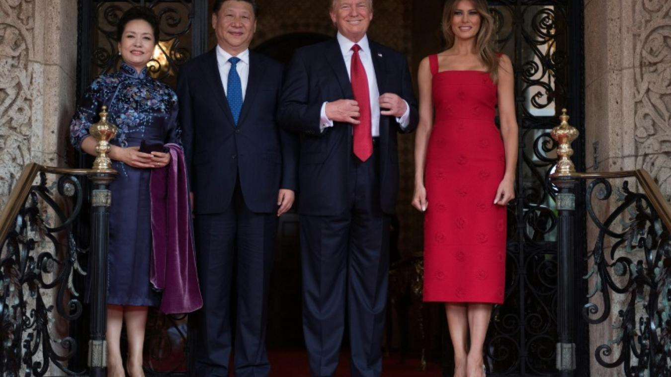 visite de Donald Trump en Chine