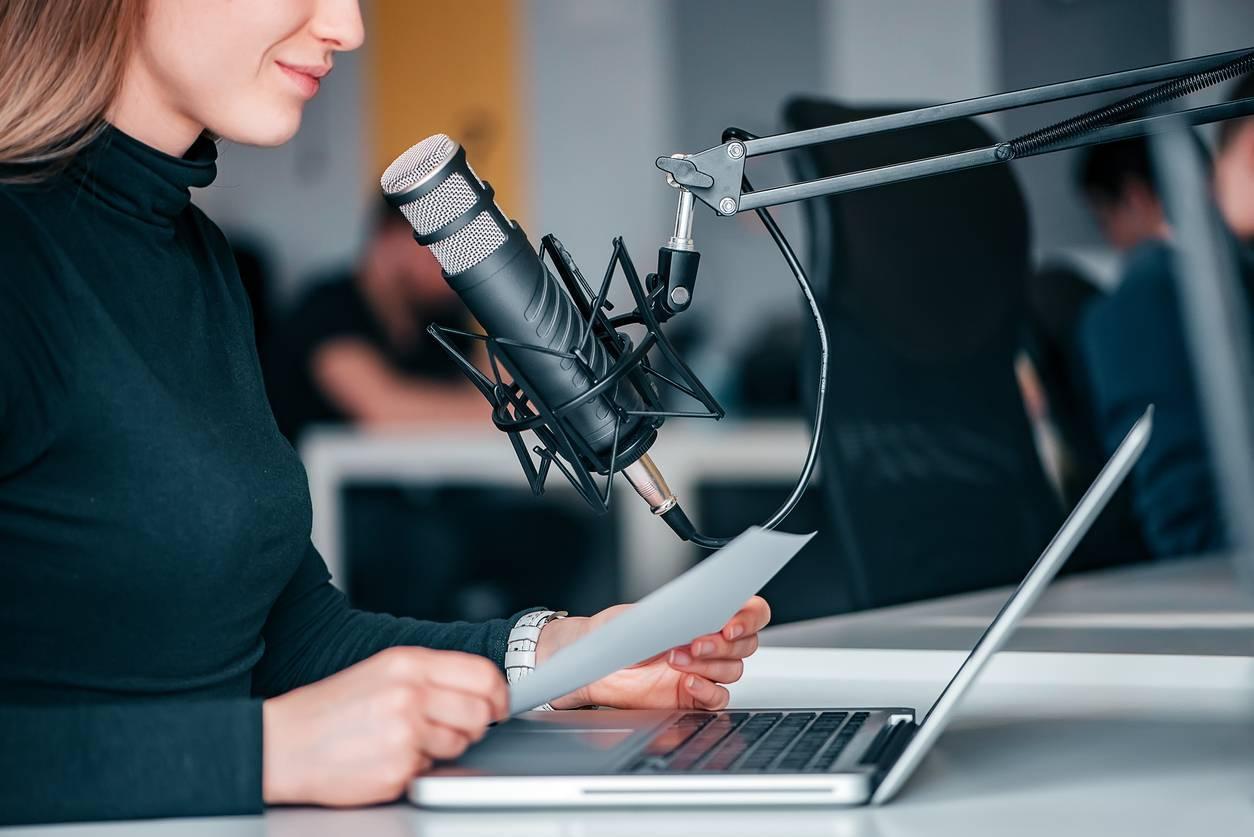 podcast audio matériel